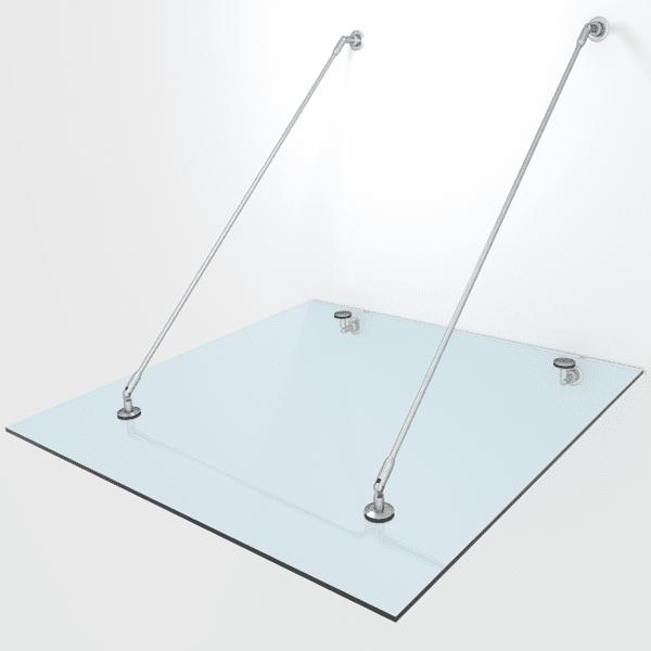 Mocowania do daszków szklanych